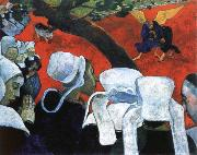Paul Gauguin the vision after the sermon china oil painting reproduction